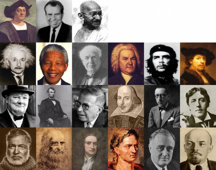 People S History Of Pop: Famous People From History
