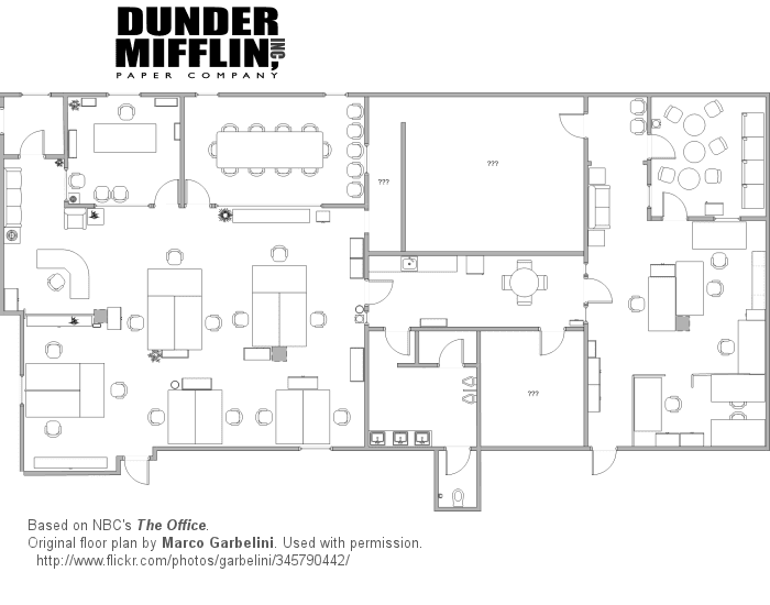 floor plan of the office. The Office Seating Chart Floor Plan Of O
