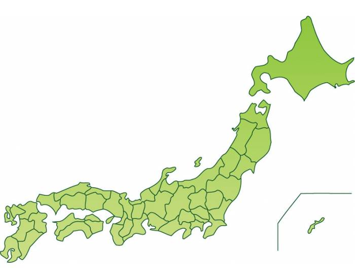 Prefectures Of Japan PurposeGames - Japan map by prefecture