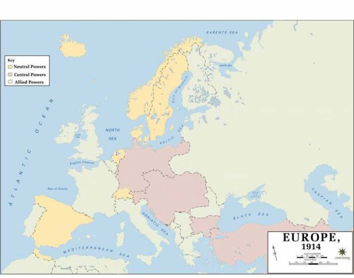 A Map Of Europe In 1914.The Countries Of Europe 1914 Purposegames