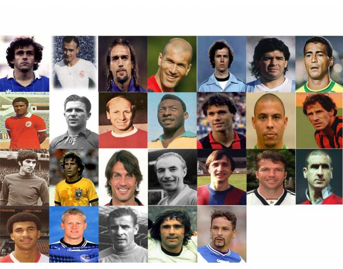 Best Soccer/Football Players of All Times