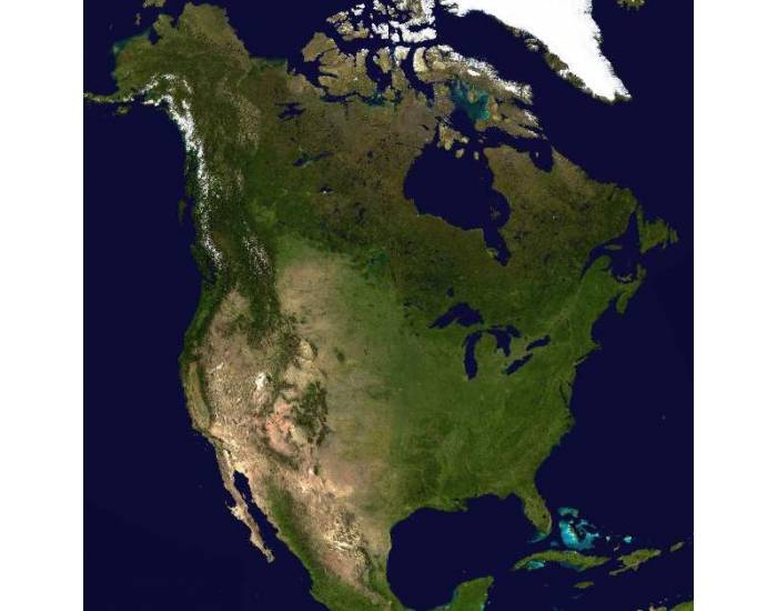 Physical Features of North America - PurposeGames