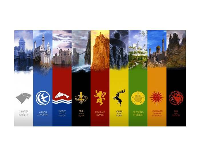 Great Houses of Westeros