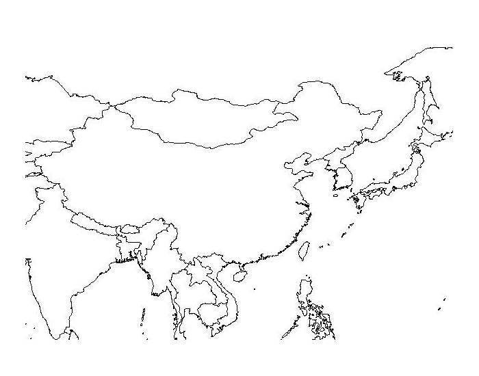 East Asia Political Map Game 27