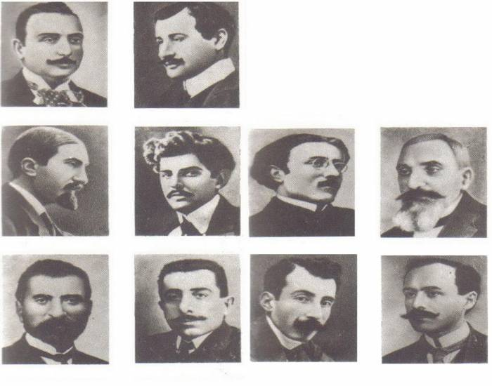 Armenian Intellectuals killed During the Armenian Genocide