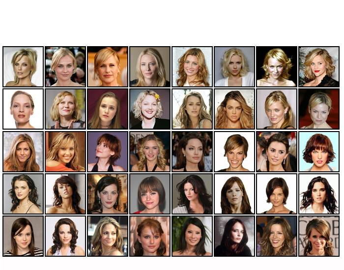 Hollywood Stars 1 (actress born after 1968)