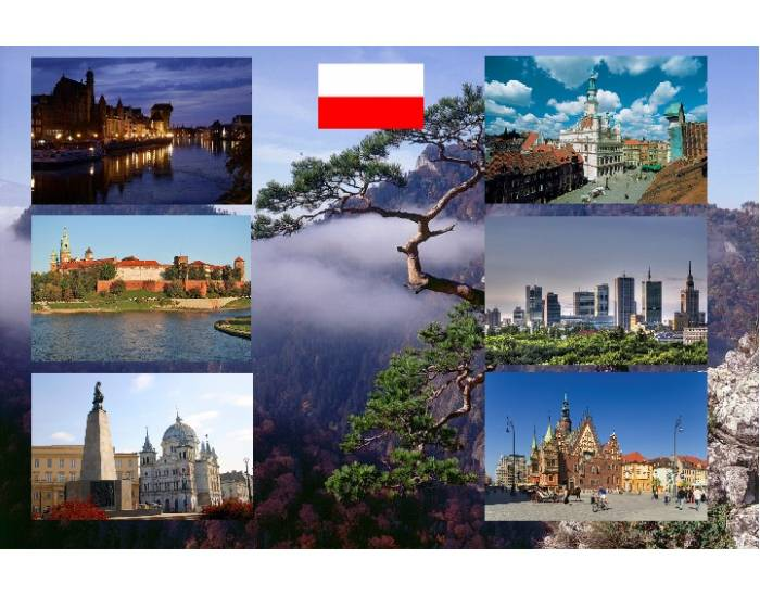 6 cities of Poland