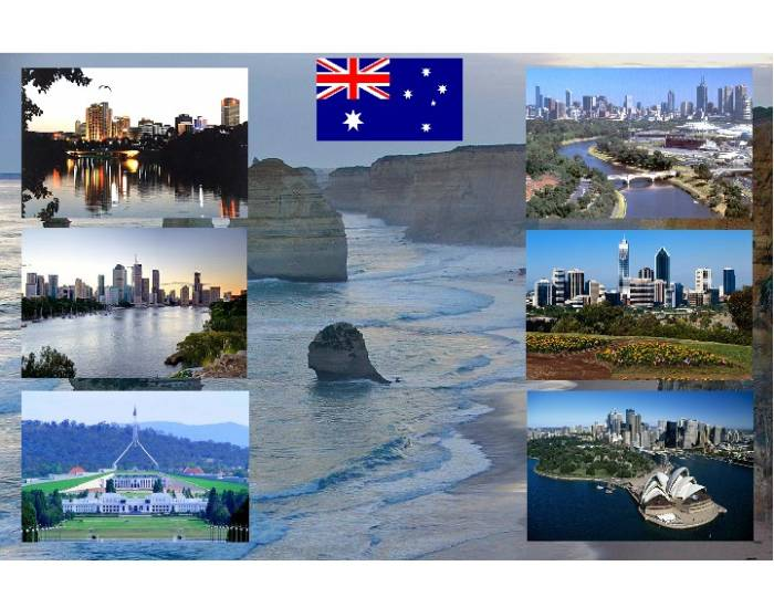 6 cities of Australia