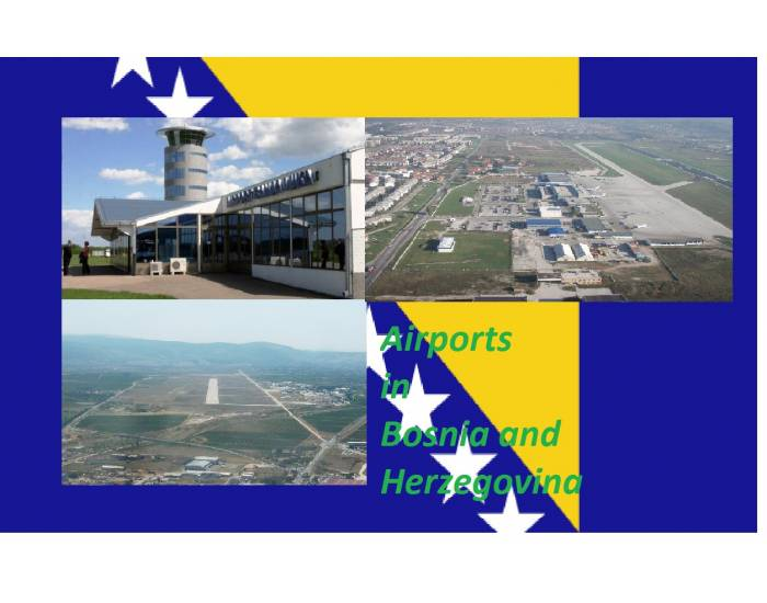 Airports in Bosnia and Herzegovina