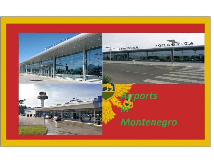 Airports in Montenegro