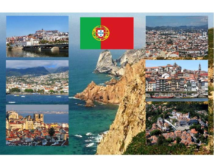 6 cities of Portugal