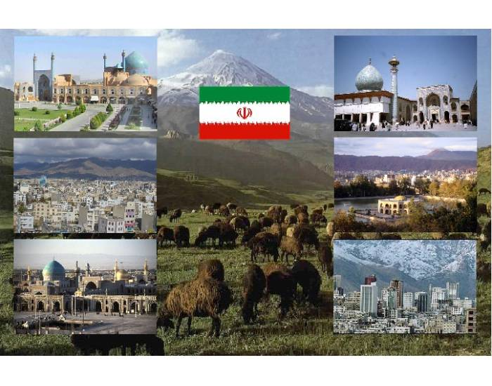 6 cities of Iran