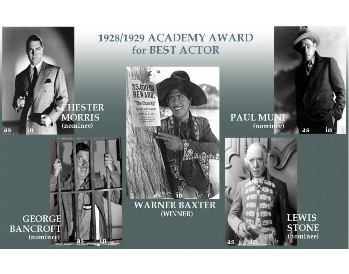 1928/29 Academy Award for Best Actor