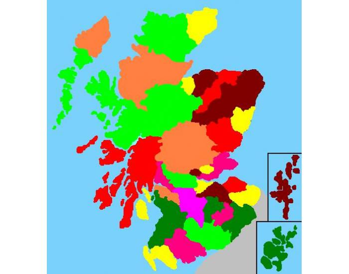 Counties of Scotland