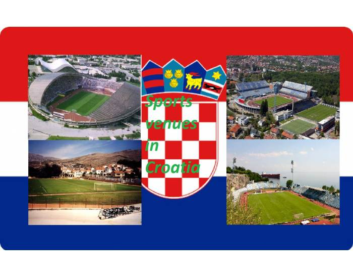 Sports venues in Croatia