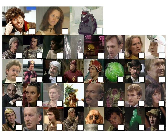 Doctor Who - Classic Series Fifteen Characters