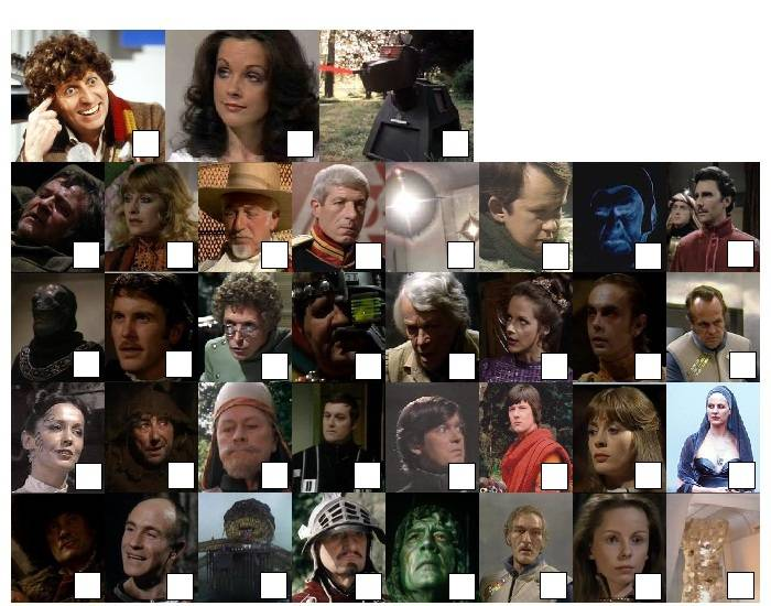 Doctor Who - Classic Series Sixteen Characters