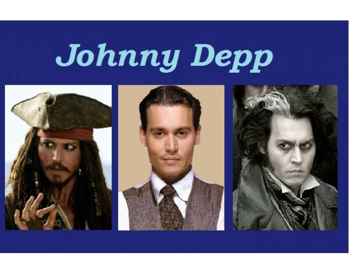 Johnny Depp's Academy Award nominated roles