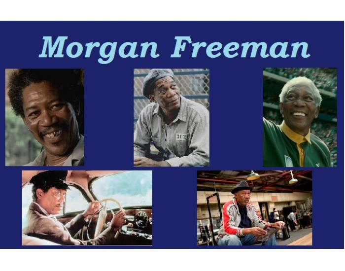 Morgan Freeman's Academy Award nominated roles