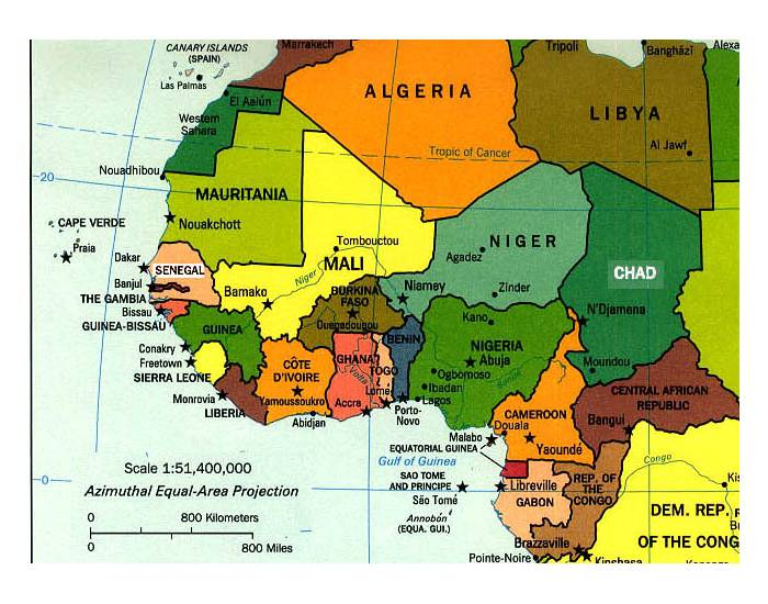 Natural Resources of West African PurposeGames