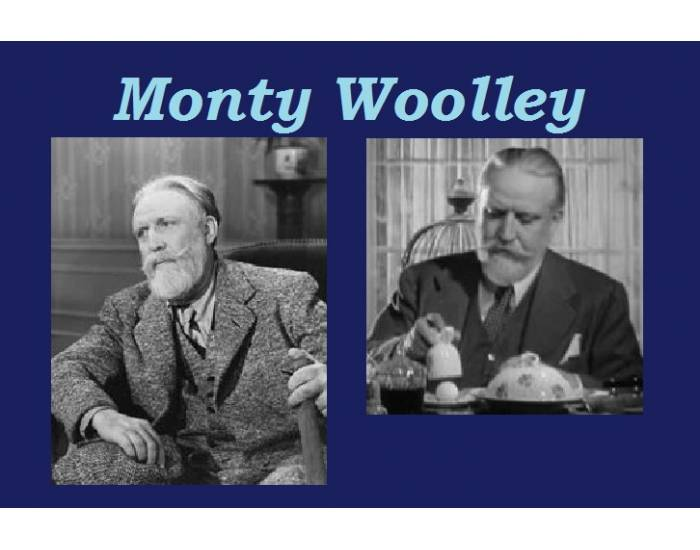 Monty Woolley's Academy Award nominated roles