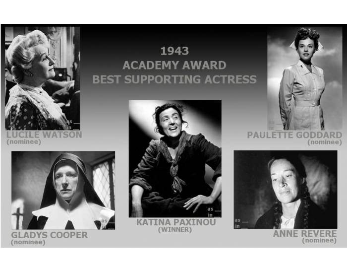 1943 Academy Award Best Supporting Actress
