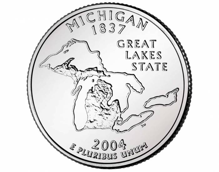 Quarter of Michigan