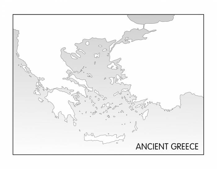 Ancient Greece Map Quiz - PurposeGames
