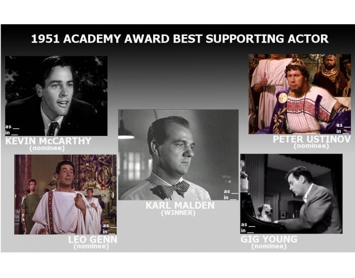1951 Academy Award Best Supporting Actor