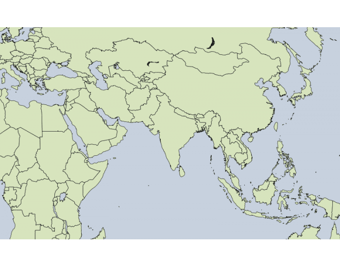 Asia and a little more