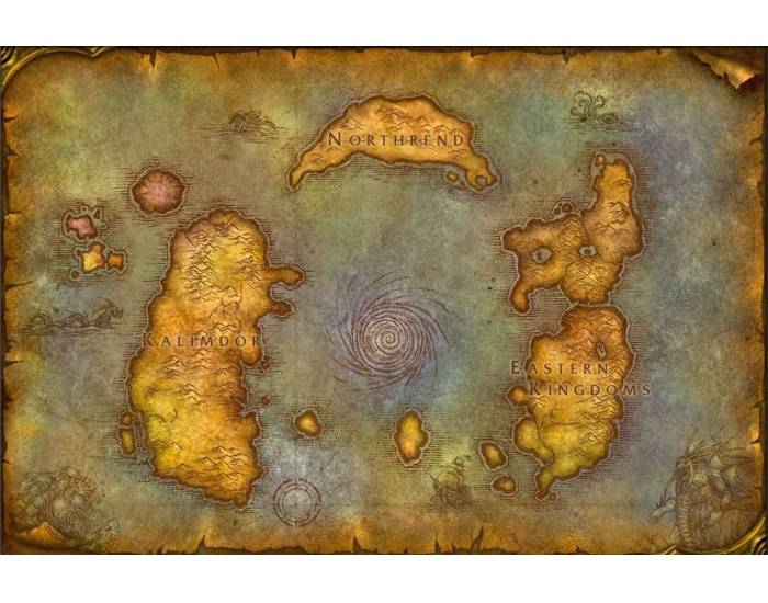 World of Warcraft - Azeroth Map Quiz