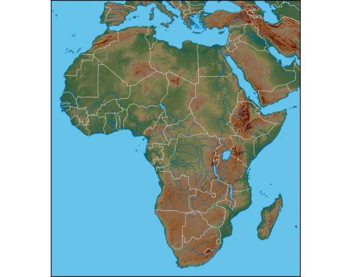 WG 4- Africa SOL Physical Geography