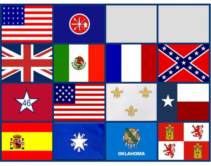 The 14 Flags that Have Flown over Oklahoma