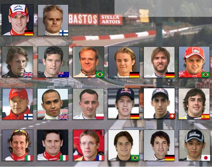 F1 Drivers 2009 (revised)