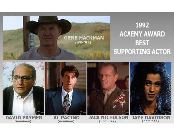 1992 Academy Award Best Supporting Actor