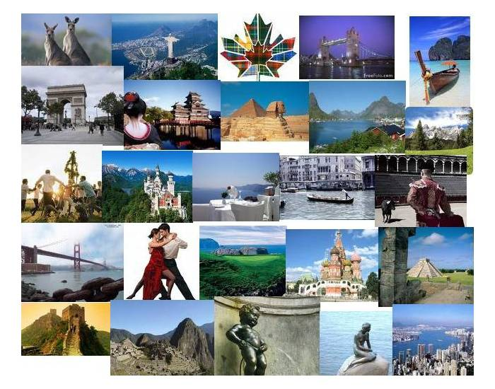 Visit ten countries abroad