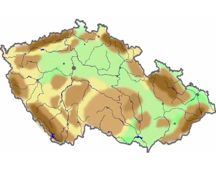 Mountain Ranges of the Czech Republic