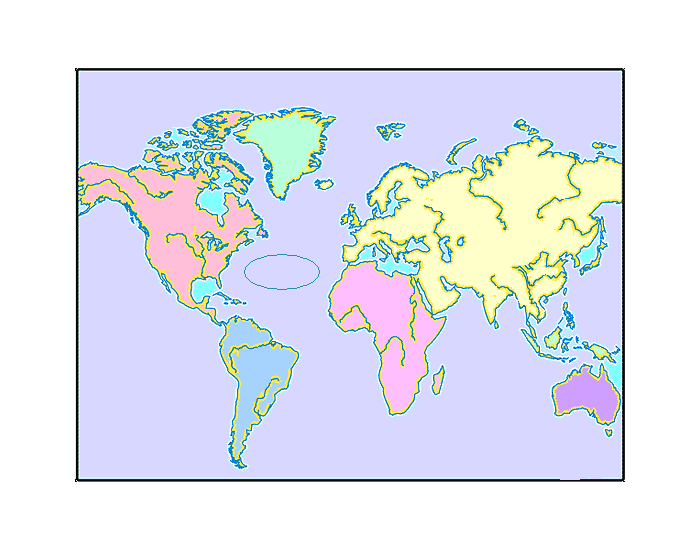 World Oceans, Seas and Rivers