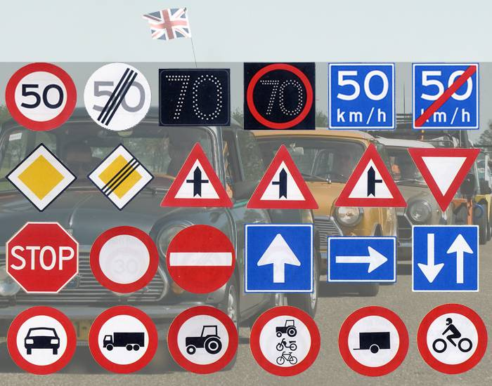 Road Signs 1 (Netherlands)