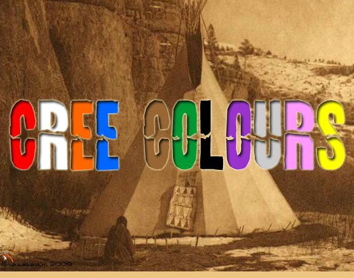 Colours in Plains Cree