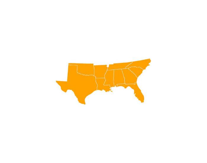 Sam's South USA State and Capitals Quiz