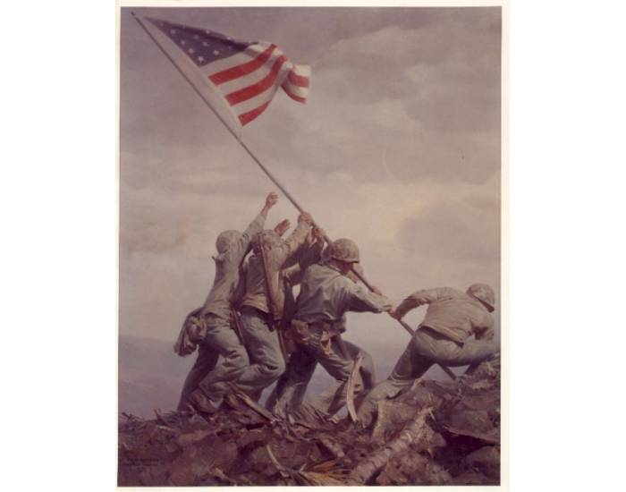 Flag Raisers of Iwo Jima