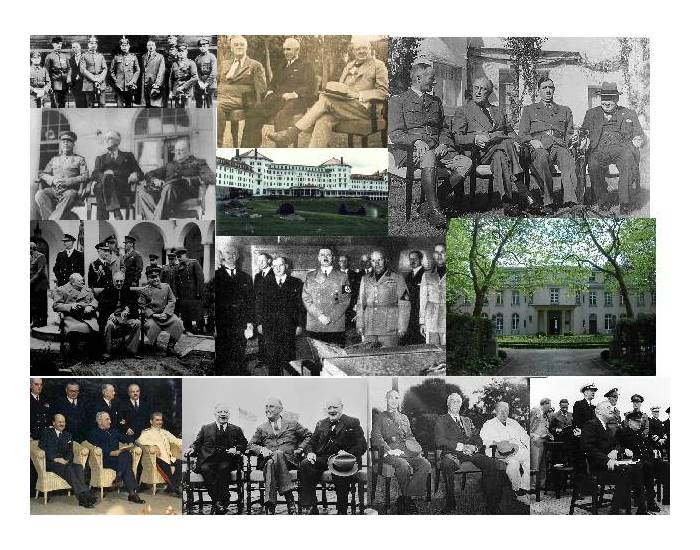 WWII Conferences That Changed the World