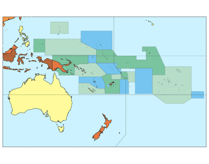 The Countries of Oceania - PurposeGames