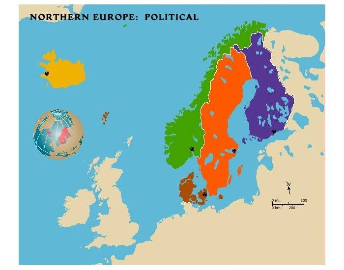 Northern Europe Political