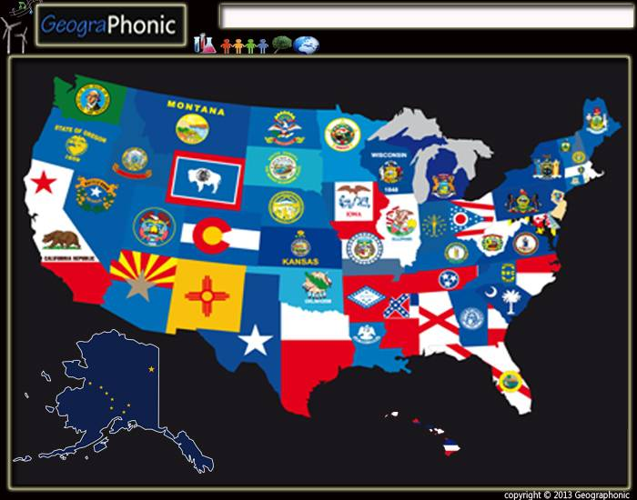 50 states of United States of America