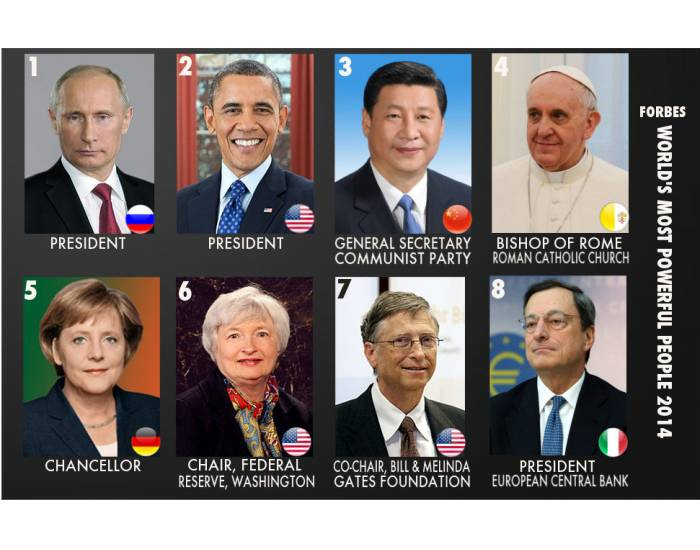 Forbes Most Powerful People 2014 1/9