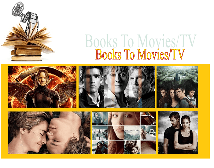 Book to Movie/TV adaptations (12)