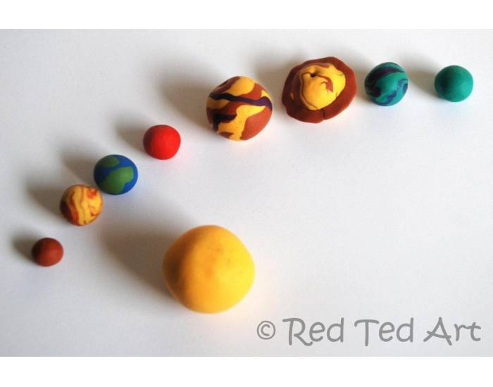 Your Solar System Made of Clay