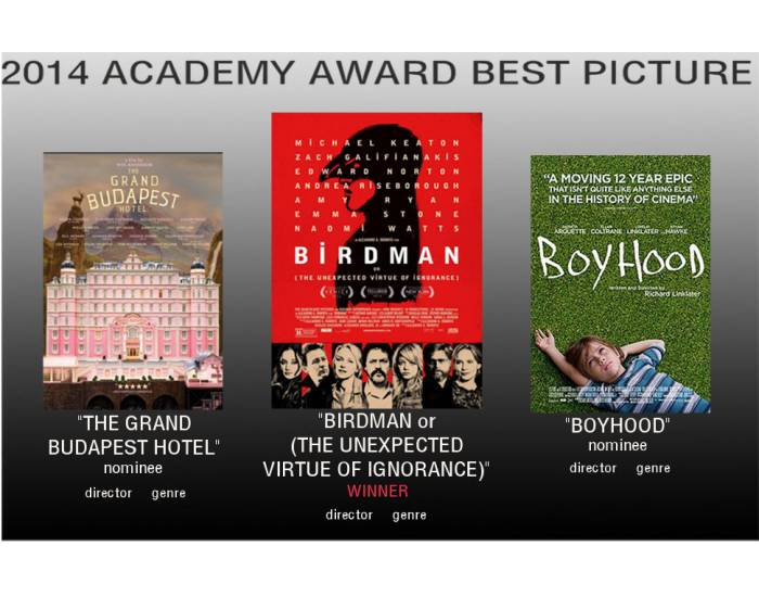 2014 Academy Award Best Picture 1/2